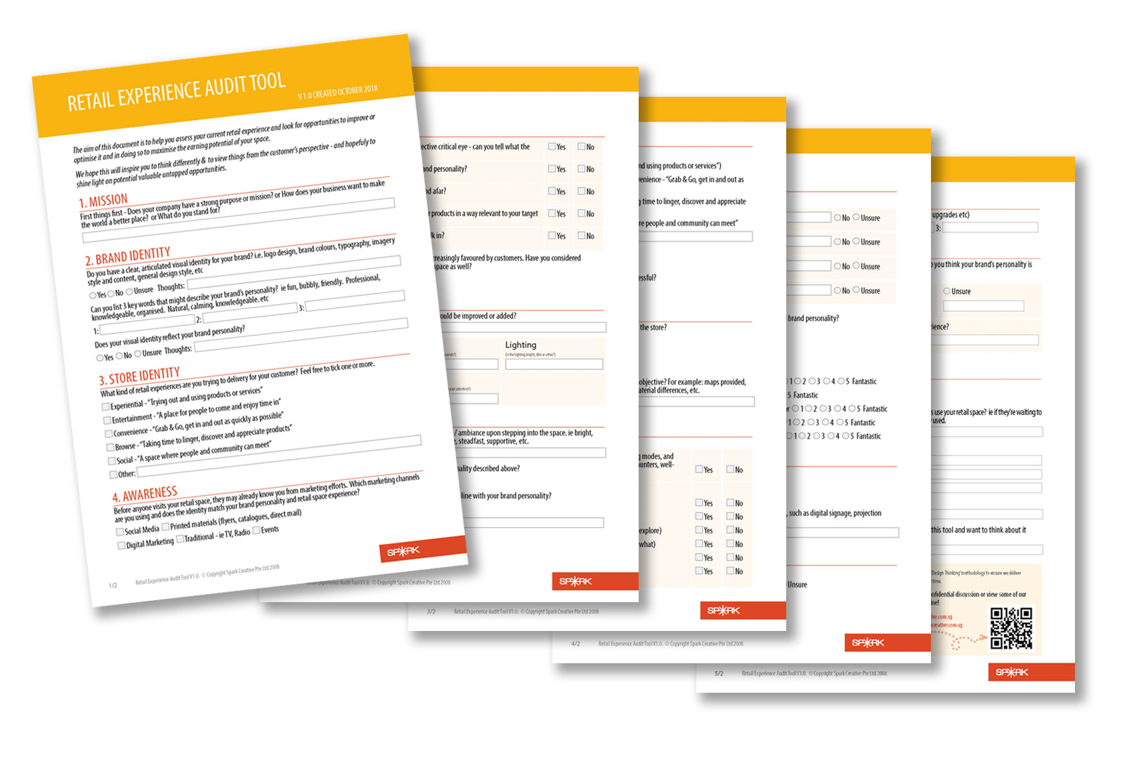 DOWNLOAD - 15 POINT RETAIL EXPERIENCE AUDIT TOOL ⋆ SPARK
